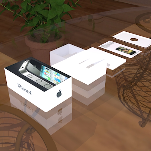 iPhone4 16GB Box Set Model